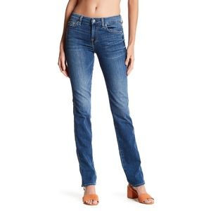 7 for All Mankind Karah Squiggle Straight Jeans